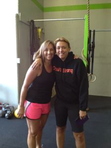 Jona and I at Crossfit Brentwood