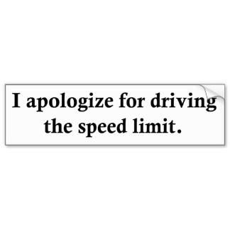 The speed limit is 49mph.