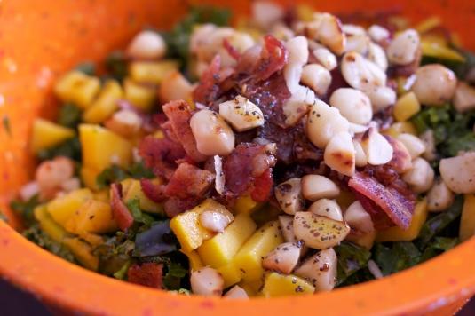 Mango Kale Salad