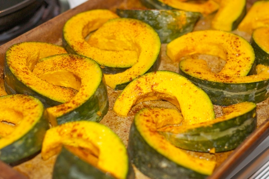 Smokey, sweet and spicy... Kabocha!