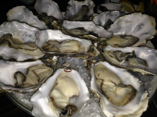 Oysters... from Puget Sound.